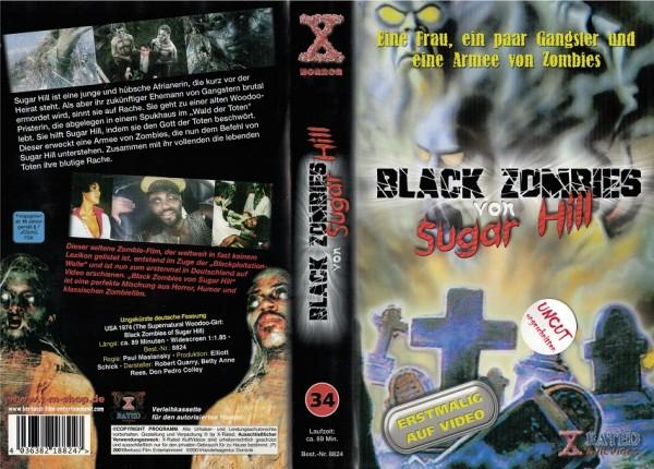 Black Zombies von Sugar Hill - Die schwarzen Zombies von Sugar Hill (X-Rated)