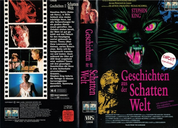 Geschichten aus der Schattenwelt - Tales from the darkside (Columbia Neuauflage)
