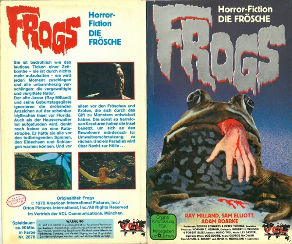 Frogs (Hartbox)