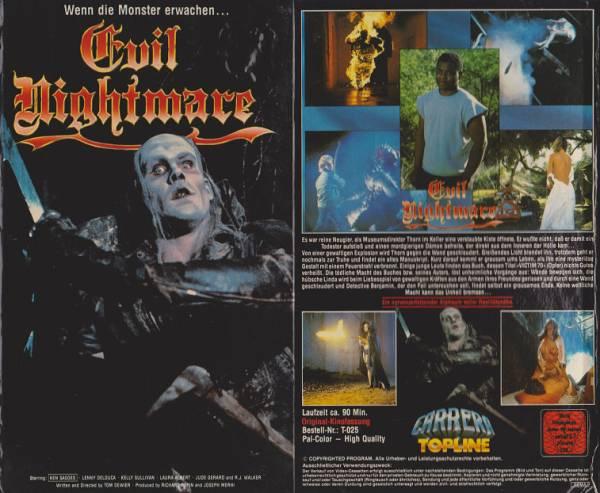 Evil Nightmare - Schrecklicher Alptraum
