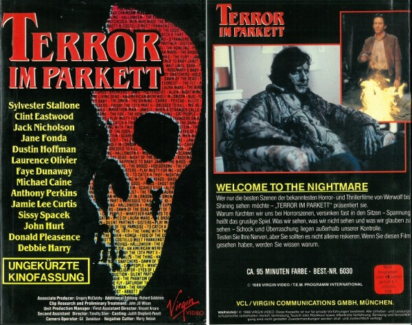 Terror im Parkett - Terror in the aisles (Hartbox)