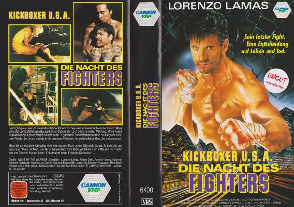 Kickboxer U.S.A. - Die Nacht des Fighters