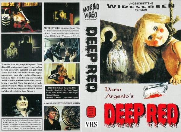 Deep Red - Profondo Rosso - Die Farbe des Todes (Morbid Video)