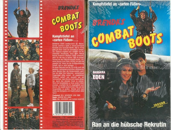 Brenda`s Combat Boots - Wo bitte geht's zum Militär? (Neu, OVP)