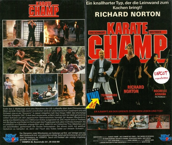 Karate Champ - Das Schwert des Todes (Hartbox)
