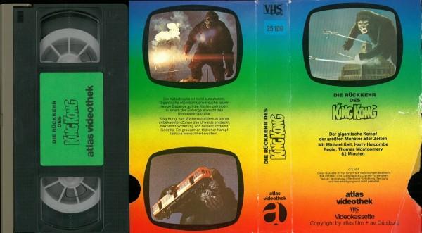 Rückkehr des King Kong, Die (Atlas Glasbox TV Bild)