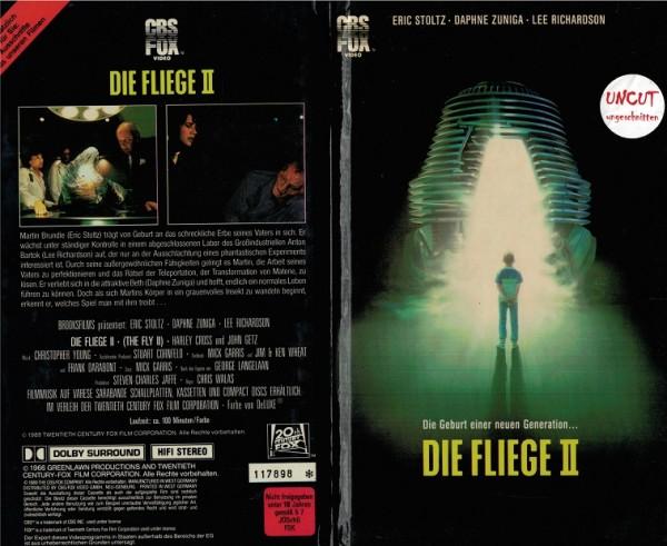 Fliege 2, Die (Hartbox)