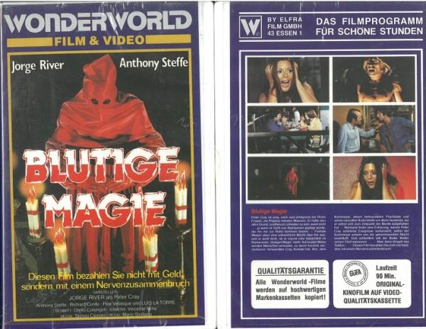 Blutige Magie (Wonderworld Video) NEU, OVP