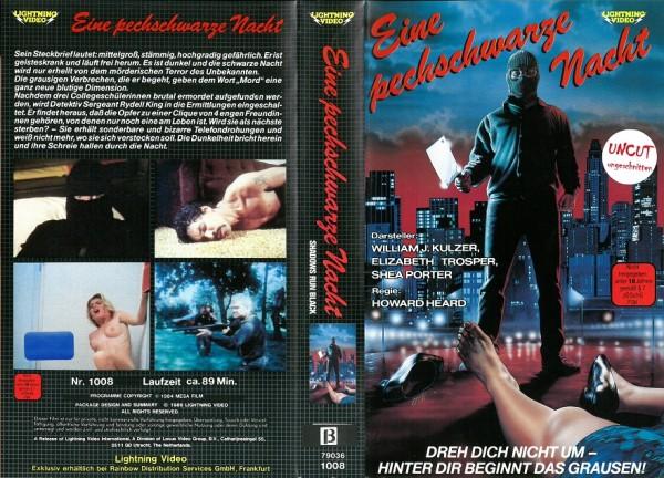 Eine pechschwarze Nacht (Betamax !)