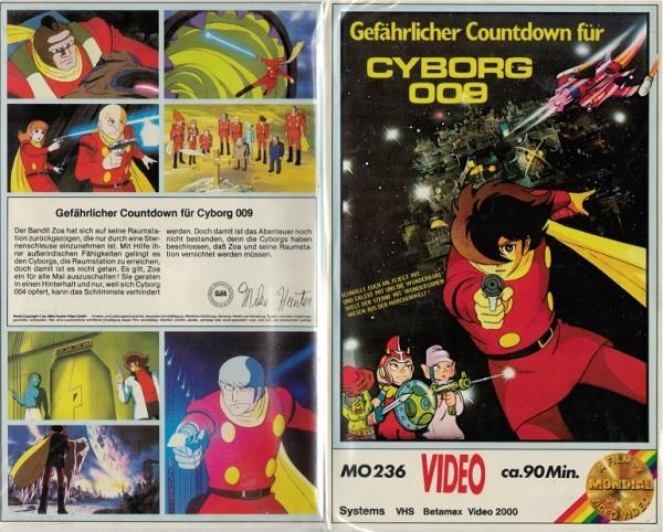 Gefährlicher Countdown für Cyborg 009 (MH weiss)