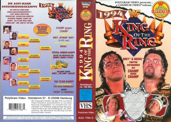 King of the ring 1994 (WWF Wrestling)