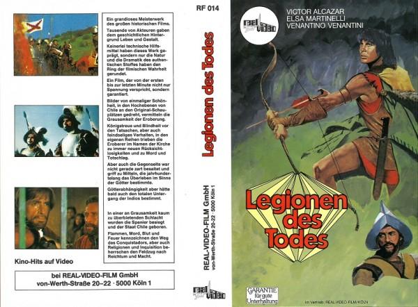 Legionen des Todes - Der Conquistador (nur das real Video Cover - NEU!)