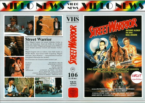 Street Warrior - Revenge of the street warrior