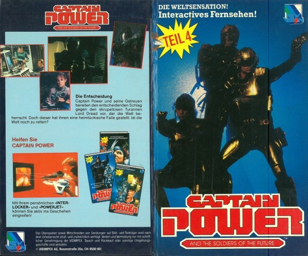 Captain Power and the soldiers of the future 4 (Hartbox)