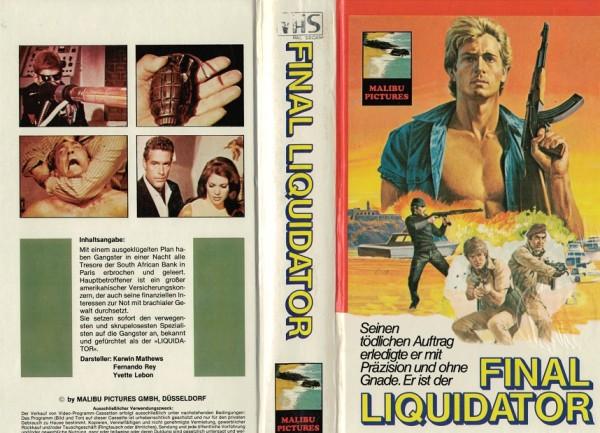 Final Liquidator - Das Geheimnis der blutigen Perlen - Hartbox