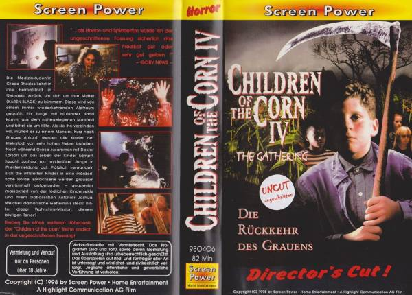 Children of the Corn IV - Kinder des Zorns 4 (Director´s Cut)