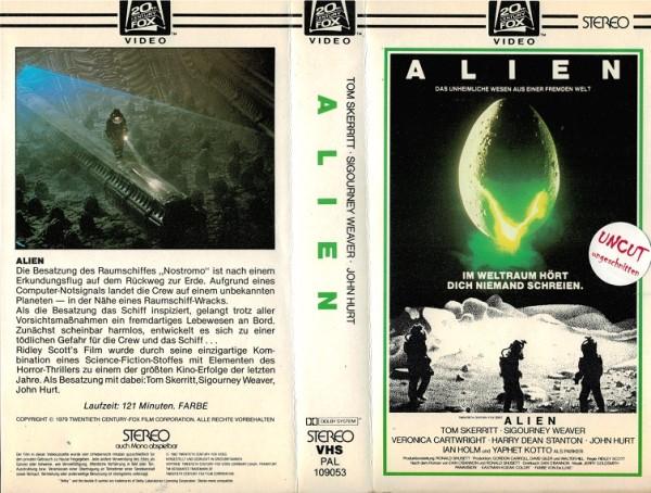 Alien - Das unheimliche Wesen aus einer fremden Welt (CBS klein)