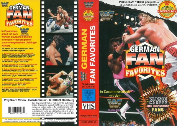 German Fan Favourites (WWF Wrestling)