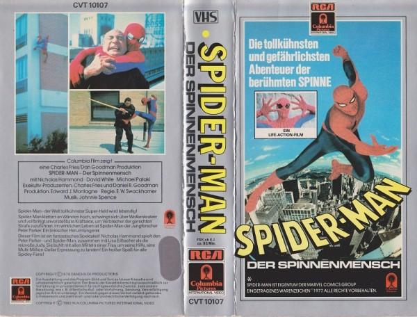 Spiderman - Der Spinnenmensch (RCA grau)