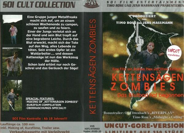 Kettensägen Zombies - Das Blutbad hat begonnen (Amateurfilm)