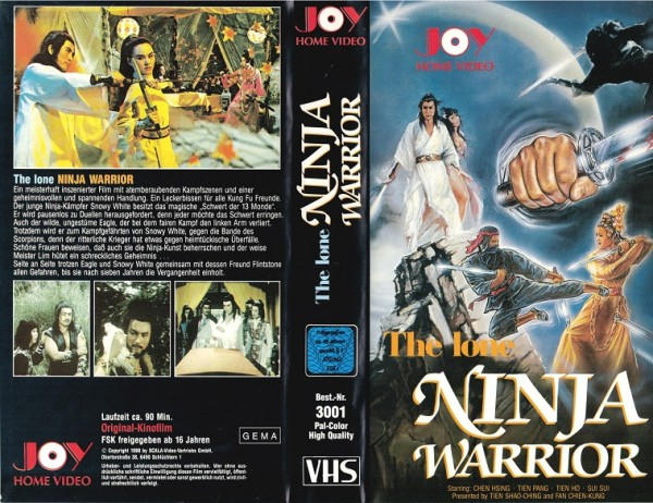 lone ninja Warrior, The (Joy)