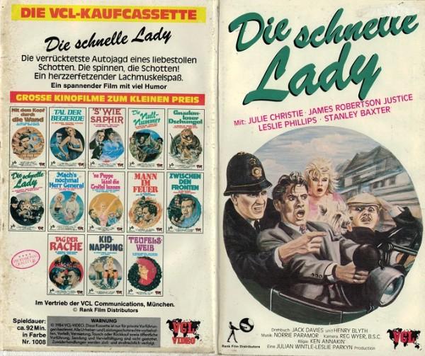 schnelle Lady, Die (Hartbox)