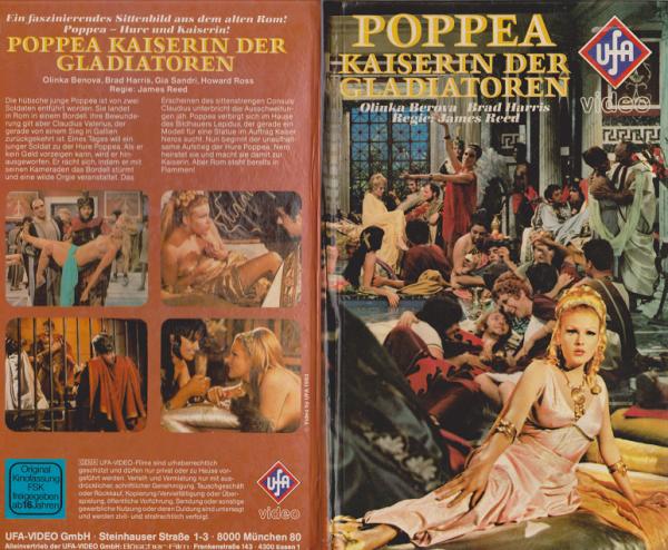 Poppea - Die Kaiserin der Gladiatoren (Hartbox)