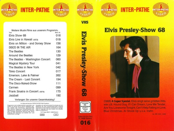 Elvis Presley - Show 1968