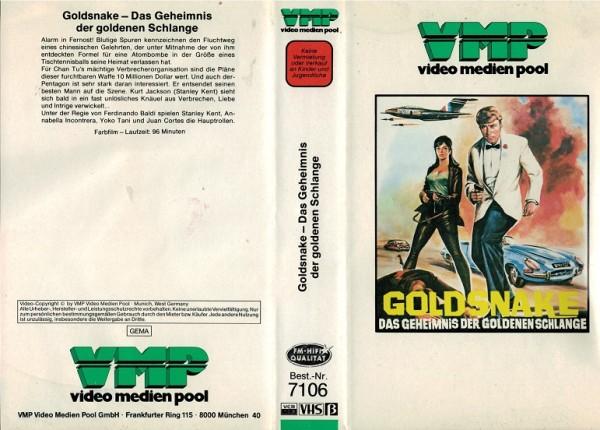 Goldsnake - Das Geheimnis der goldenen Schlange (VMP weiss)