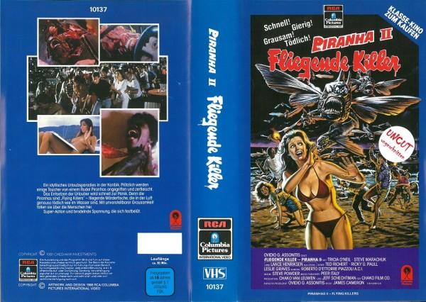 Piranha 2 - Fliegende Killer (RCA blau)