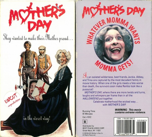 Mother´s Day - Muttertag (Best Film US Import Pappschuber)