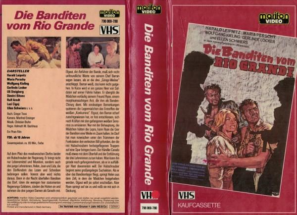 Banditen vom Rio Grande, Die - Hartbox (Marifon)