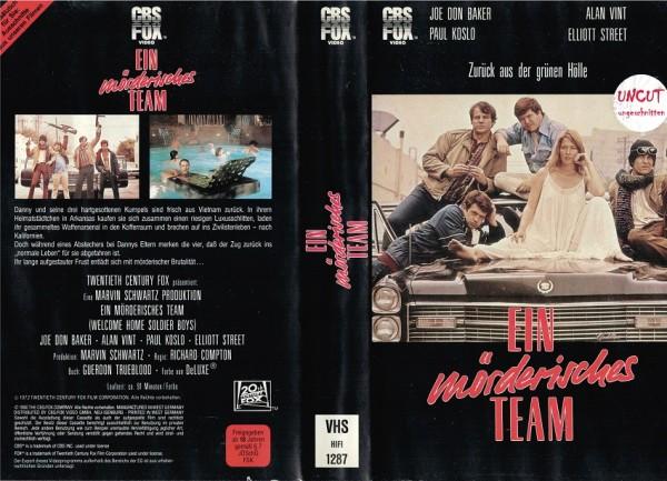 Ein mörderisches Team (CBS gross)