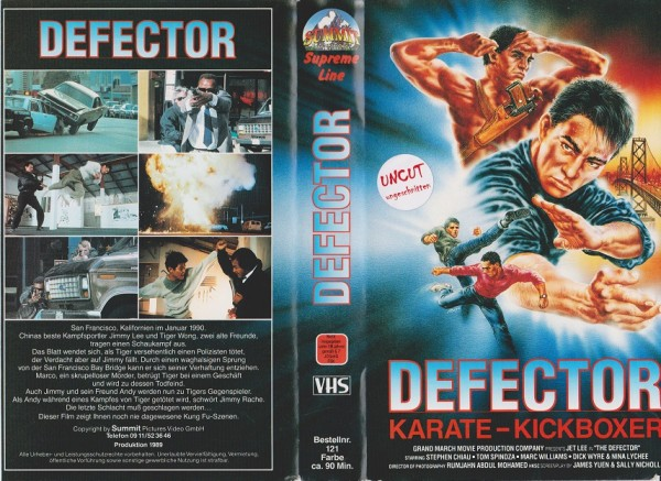 Defector - Karate-Kickboxer