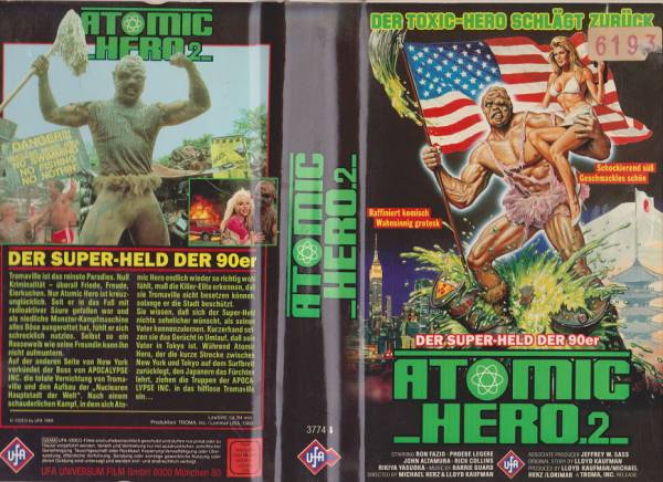 Atomic Hero 2 - Toxic Avenger 2 (Hartbox)