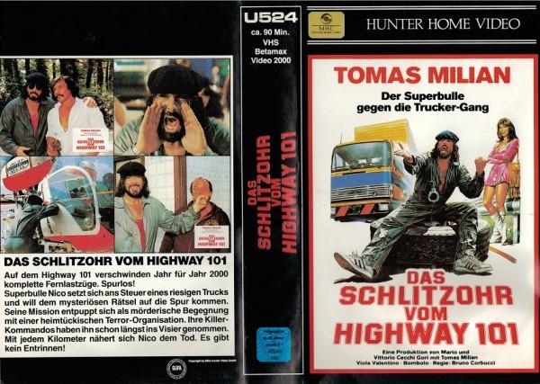 Schlitzohr Vom Highway 101 Das Mh Schwarz Action Videokassetten Aller Genres Ohne Indizierte Film Retro Shop De