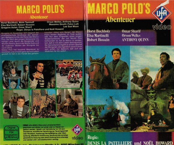 Marco Polo´s Abenteuer (Hartbox)
