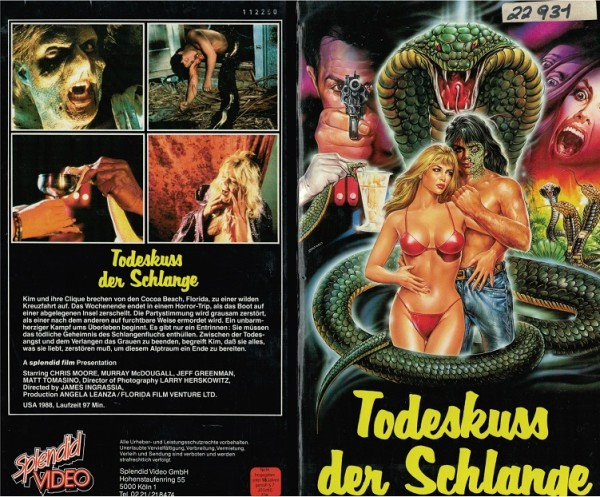 Todeskuss der Schlange - Kiss of the serpent (Hartbox)