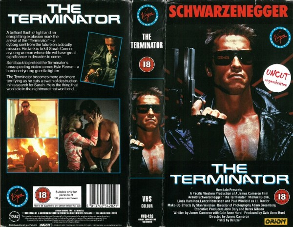 Terminator (Virgin Video UK Import)