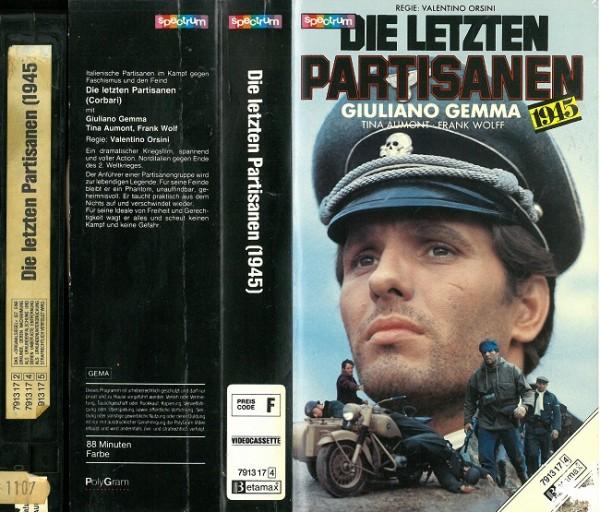 letzten Partisanen, Die (Glasbox)