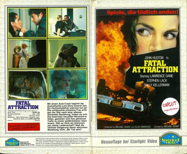Fatal Attraction - Head On - Spiele, die tödlich enden (Hartbox)