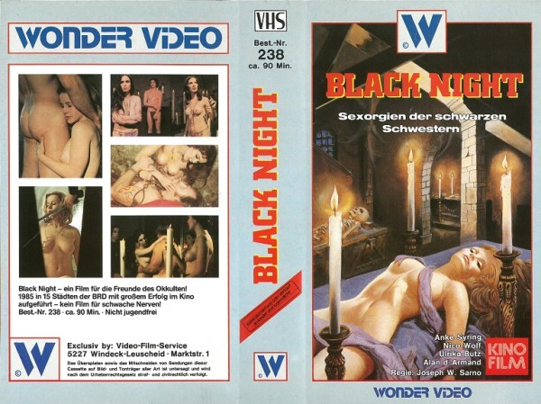 Black Night ... der schwarzen Schwestern (Wonder Video)