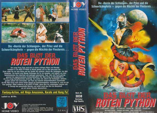 Blut der roten Python, Das - The battle wizard