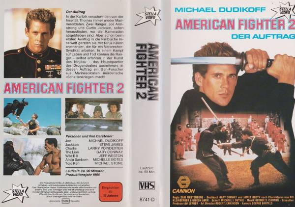 American Fighter 2 - Der Auftrag (Stella Video)