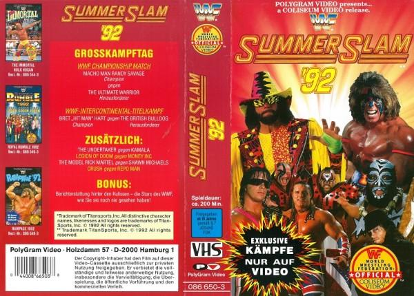 Summer Slam 92 (WWF Wrestling)