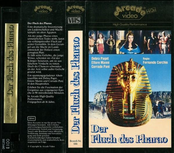 Fluch des Pharao, Der (Arcade Glasbox)