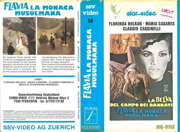 Flavia - La Monaca Musulmana - Nonnen - Bis auf´s Blut gequält (Star Video IT Import)