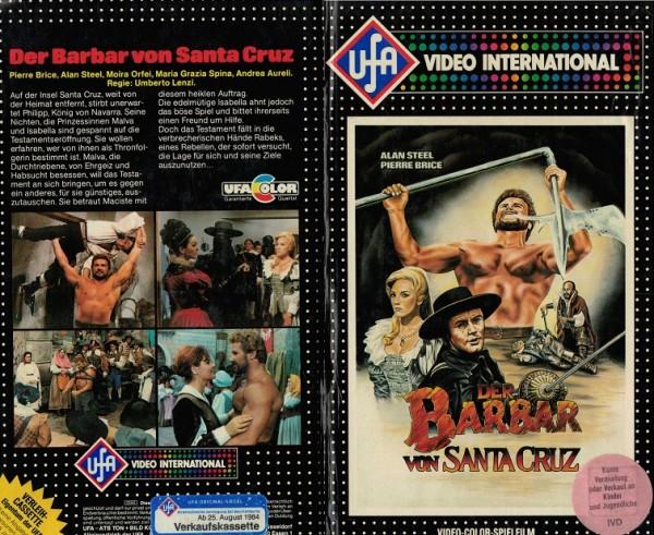 Barbar von Santa Cruz, Der - Zorro gegen Maciste (Hartbox Punkte)