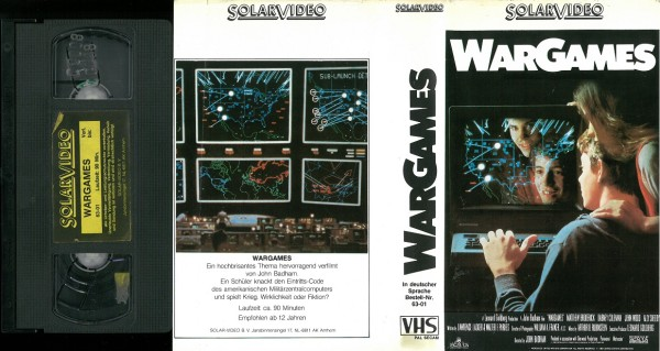 War Games - Kriegsspiele (Solar Video)