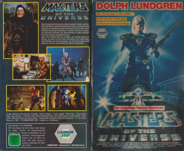 Masters of the Universe (Hologramm - Hartbox)